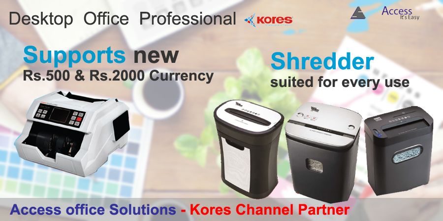 Kores Currency Counting Machines